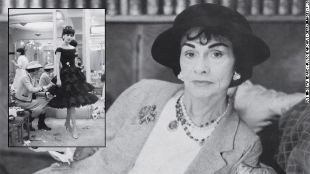 Coco Chanel (1883-1971) Fashion designer Started: 1910 From an inauspicious start, raised in a Catholic orphanage where she learned to be a seamstress, Chanel went on to become one of the world's best-known fashion designers. She opened her first millinery store in Paris in 1910, according to The Biography Channel, and by the 1920s was known as a style icon. In 1922, she launched her most famous fragrance Chanel No. 5, which remains a a favorite for millions of women. Chanel worked up until her death in the Ritz Hotel at the age of 88, and her name is still carried on fashion, fragrances, jewelery and watches.