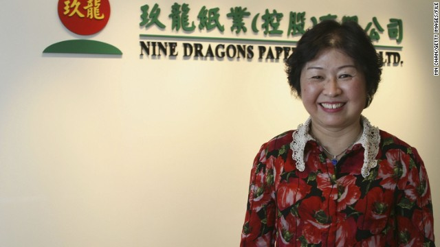 Cheung Yan (1957- ) Paper recycling Started: 1995 In 2006, with a personal fortune of $3.4bn, Cheung Yan became the first woman to top China's annual Huran Report rich list, making her the richest self-made woman in the world. It was a fortune built entirely from paper. Cheung, the daughter of a Chinese army officer, started her first paper recycling company in Hong Kong in 1985. After a stint in the United States shipping waste paper to China for recycling, Cheung returned to China and started Nine Dragons Paper, of which she is chairlady, with her husband. Nine Dragons Paper now describes itself as the world's largest environmentally friendly paper manufacturer and, according to Forbes, has 18,000 full-time staff.