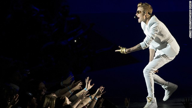 Bieber ticked off his fans in March after he showed up a reported two hours late to a concert at London's O2 Arena. He disputed that in a tweet, however, saying he was only 40 minutes behind schedule.