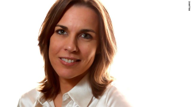 Claire Williams is the daughter of team founder Frank Williams.