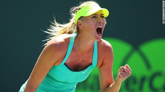 Russia's Maria Sharapova has been beaten in the Miami Masters final on four different occasions.