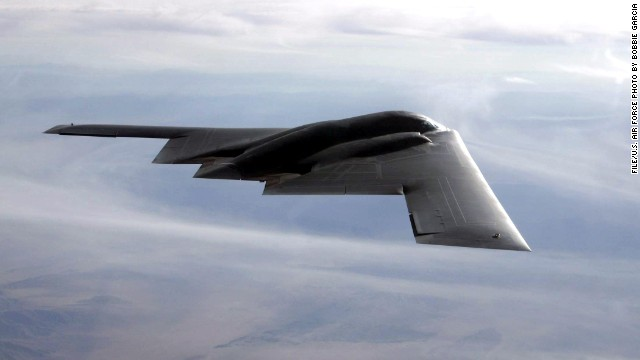 The U.S. Air Force sent B-2 Spirit bombers, pictured above, to participate in South Korean military exercises.