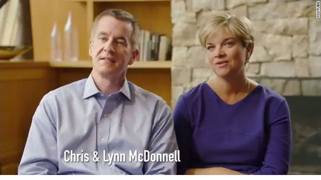 Newtown families featured in first political ad