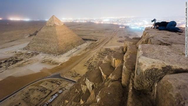 No trepes pirámides prohibidas
