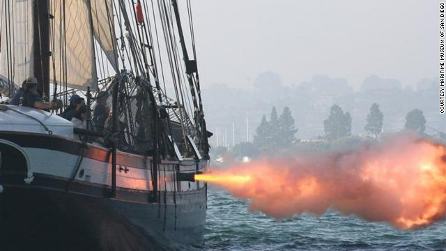 San Diego boasts the largest tall ship festival on the West Coast. The annual Labor Day weekend event includes bay exhibitions featuring vessels making sail with guns blazing.