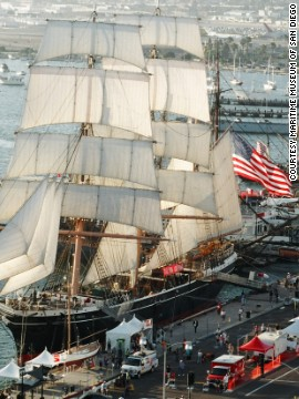 Some 200,000 visitors likely will check out San Diego's North Embarcadero area for this year's festival. The Star of India is expected to be among the tall ships on display.