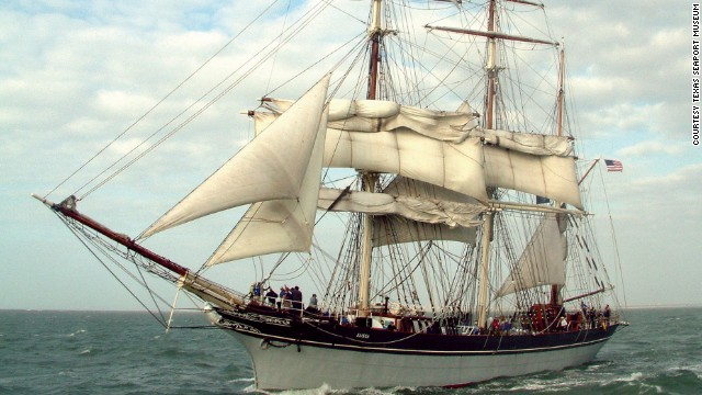 Built in 1877, Elissa is billed as one of the longest continuously sailed ships in the country, if not the world. At full speed, Elissa unfurls 19 sails.