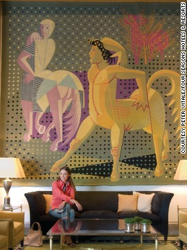 The Four Seasons Hotel Ritz Lisbon has supported local artists since it opened its doors in 1959. Its collection now numbers more than 500 pieces.