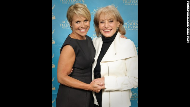 Katie Couric and Barbara Walters attended the 30th annual News &amp;amp; Documentary Emmy Awards at Frederick P. Rose Hall in 2009 in New York. 