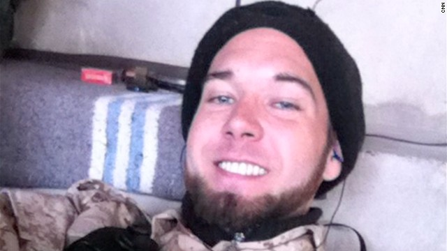 Army veteran pleads to lesser charge in Syria fighting case