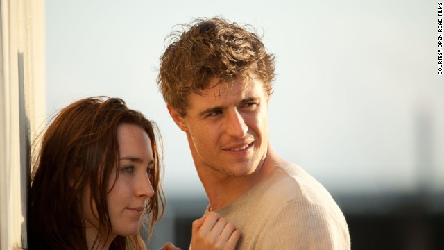 Saoirse Ronan stars as Melanie Stryder and Max Irons stars as Jared Howe in