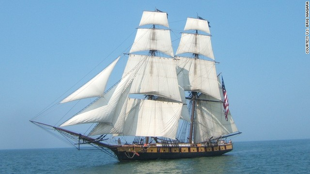 The U.S. Brig Niagara will win this summer's re-enactment of the 1813 Battle of Lake Erie. Niagara's captain says it's the largest wooden square-rigged sailing ship in the United States that still takes people sailing.