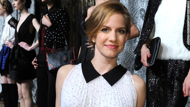 Anna Chlumsky on her 'new bundle of love'