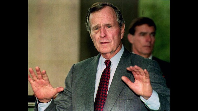 "As George H.W. Bush accepted the Republican nomination for president in 1988, he famously said, ""Read my lips, no new taxes."" A little over a year into his presidency, Bush signed a congressional budget agreement that, indeed, raised income and other taxes."