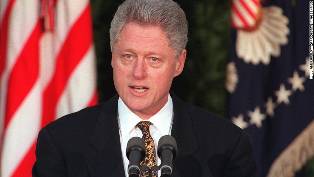 "During his impeachment trial, President Bill Clinton denied lying to staff about his affair with intern Monica Lewinsky by arguing that ""It depends on what the meaning of the word 'is' is."" While his parsing words were ridiculed, he was acquitted by the Senate in February 1999."