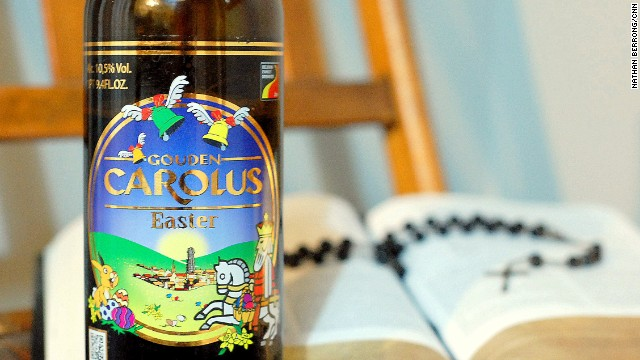 Everybunny loves beer: Religiously themed brews