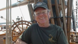 Capt. Robin Walbridge, who died in last year\'s shipwreck, commanded the Bounty for 17 years.