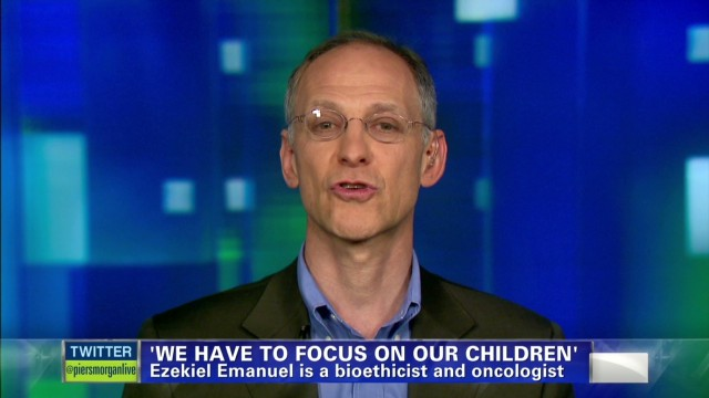Ezekiel Emanuel on America: We are a country which always says that kids are our most important resource...we have to put the money where our mouth is
