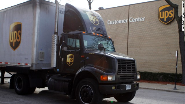UPS to forfeit $40 million