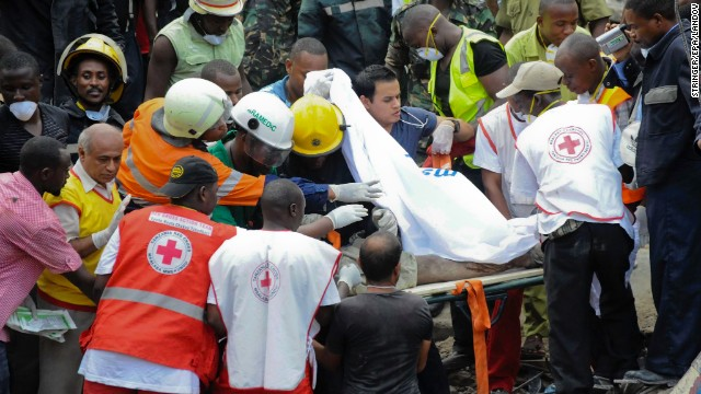 Initial reports indicated that four people had died and at least 17 were injured in the collapse.