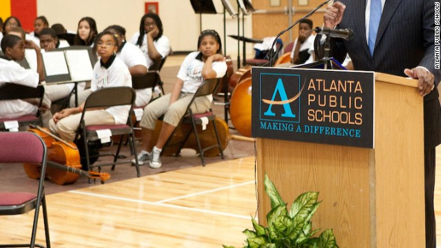 Atlanta schools chief looks beyond cheating scandal