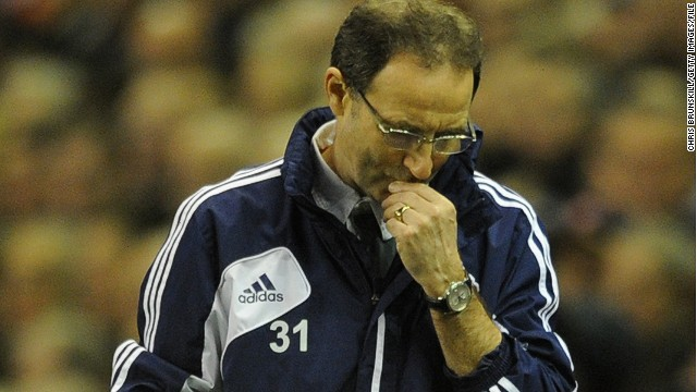 Martin O'Neill took over as manager of Sunderland in December 2011.