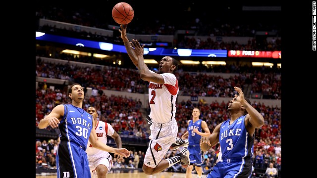 Photos: NCAA tournament Elite 8
