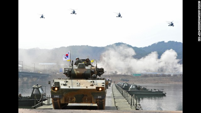 Corea del Sur concluye los ejercicios militares conjuntos con EE.UU.