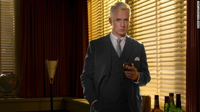 "Actor John Slattery plays Roger Sterling, here in season 2 of ""Mad Men,"" set in the year 1962."