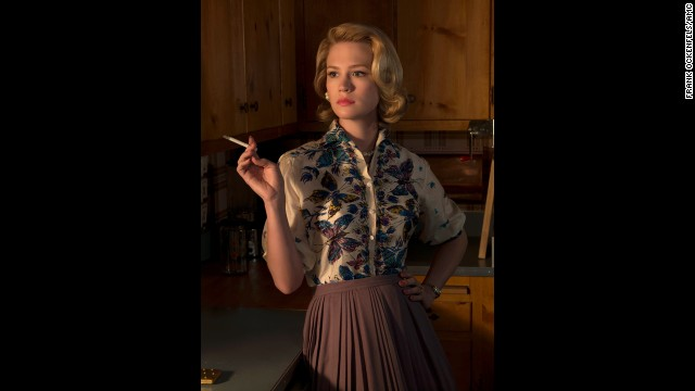 "Whether you love her or just love to hate her, ""Mad Men"" wouldn't be the complex drama that it is without mom of three Betty Draper, who later became Betty Draper Francis."