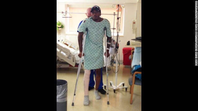 Photos: Kevin Ware\'s gruesome leg break