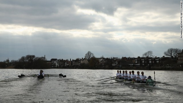 "Compared to 2012, it was smooth sailing at Sunday's race -- or ""fantastically boring"" according to Telegraph journalist Tom Chivers -- with Oxford winning by a length-and-a-half."