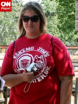 At 21, Ashlee Tomsche weighed 331 pounds. Her body mass index, or BMI, was 44, which the <a href='http://nhlbisupport.com/bmi/bminojs.htm' target='_blank'>National Institutes of Health</a> considers to be significantly obese.