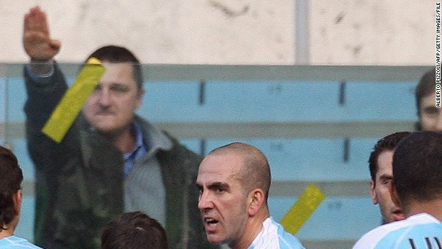 "Lazio's ""Irriducibili"" ultras have a history of racially abusing opposing players, and the club has been charged four times for such incidents in the 2012-13 season."