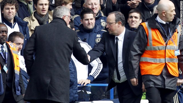 Since his time as Liverpool manager, Rafa Benitez's relationship with Manchester United Alex Ferguson has been frosty.