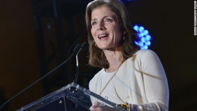 Caroline Kennedy appointed ambassador to Japan