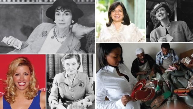 12 women entrepreneurs of the last century