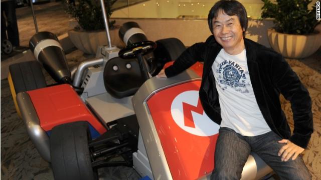 Shigeru Miyamoto, the Nintendo designer of