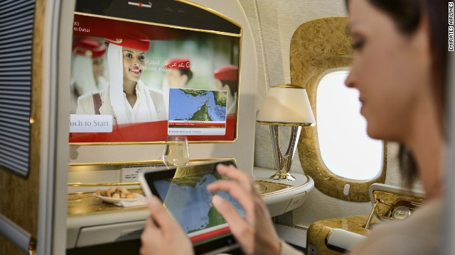 Live TV is the latest trend to hit the skies. Emirates recently added it to their in-fight entertainment offerings.