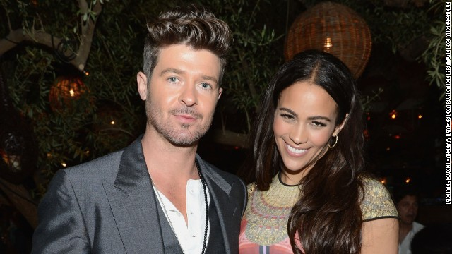 Robin Thicke's video pulled from YouTube
