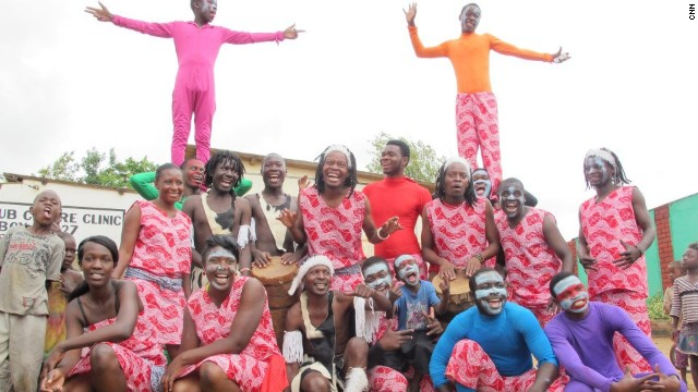 Barefeet Theatre is a group founded in 2006 that uses performing arts to engage with street children in Zambia.
