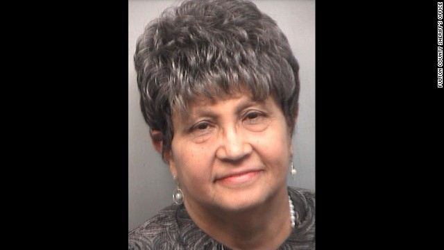 Beverly Hall, the former superintendent of Atlanta Public Schools, was among the 35 former educators indicted in an Atlanta Public Schools cheating scandal. <a href='http://www.cnn.com/2013/04/02/justice/georgia-cheating-scandal/index.html'>They began turning themselves in</a> at the Fulton County Jail on Tuesday, April 2.