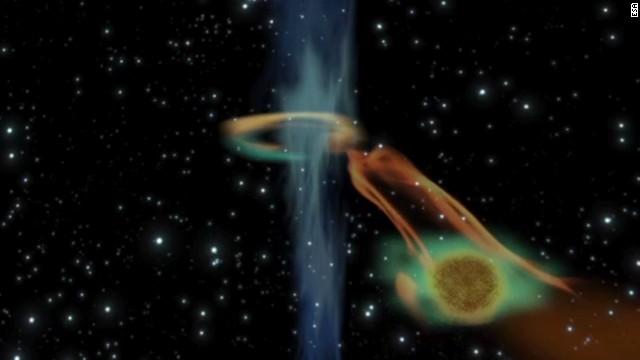 Un agujero negro absorbe un planeta 15 veces mayor que Júpiter