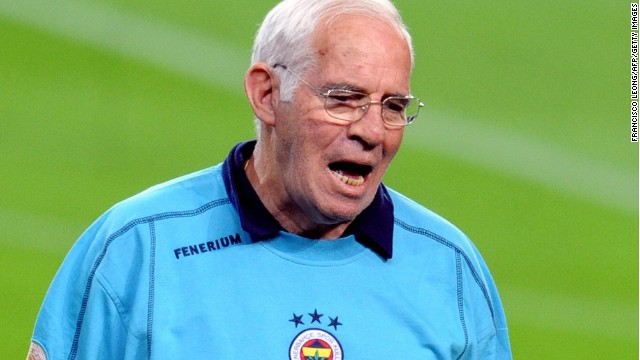 Aragones then stepped aside and was succeeded by Vicente del Bosque, who guided Spain to the 2010 World Cup title and a 2012 European defense. Aragones joined Fenerbahce but left the Turkish club in 2009 -- his final coaching job.