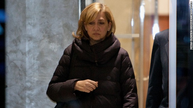Spanish princess charged over scandal