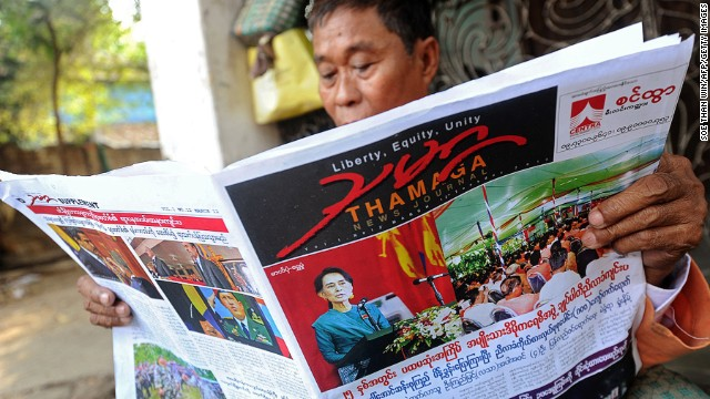 After decades under a repressive military regime, the Burmese are showing a healthy appetite for news. In the past, all publications had to submit stories to the Press Scrutiny and Registration Division for approval. Censorship was phased out in 2012 and at the beginning of 2013 the bureau was formally abolished.