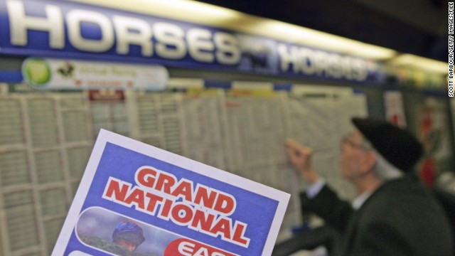 "The betting public don't appear to be put off by horse deaths, wagering around $300 million on the race every year. ""It's the one race that goes beyond the horse racing audience -- everyone is involved in a Grand National sweepstake,"" said Aintree managing director, John Baker."