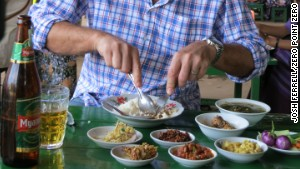 Fall in love with Burmese food