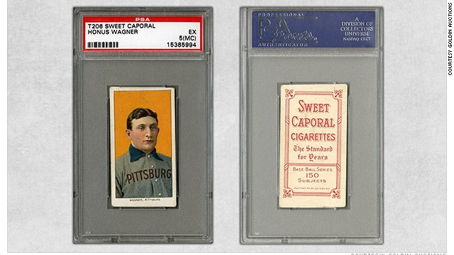 'Holy Grail' baseball card sold for $2.1m