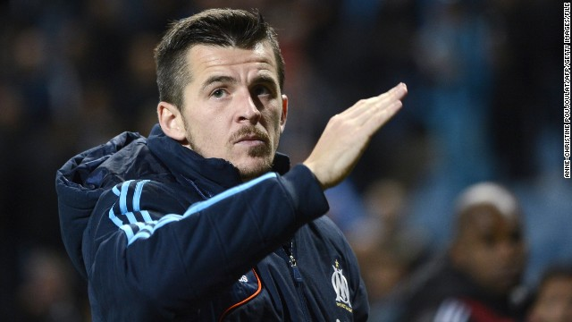 English midfielder Joey Barton is on loan at Marseille from English Premier League team Queens Park Rangers.